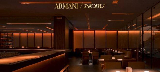 Nhà hàng Armani Nobu Milano