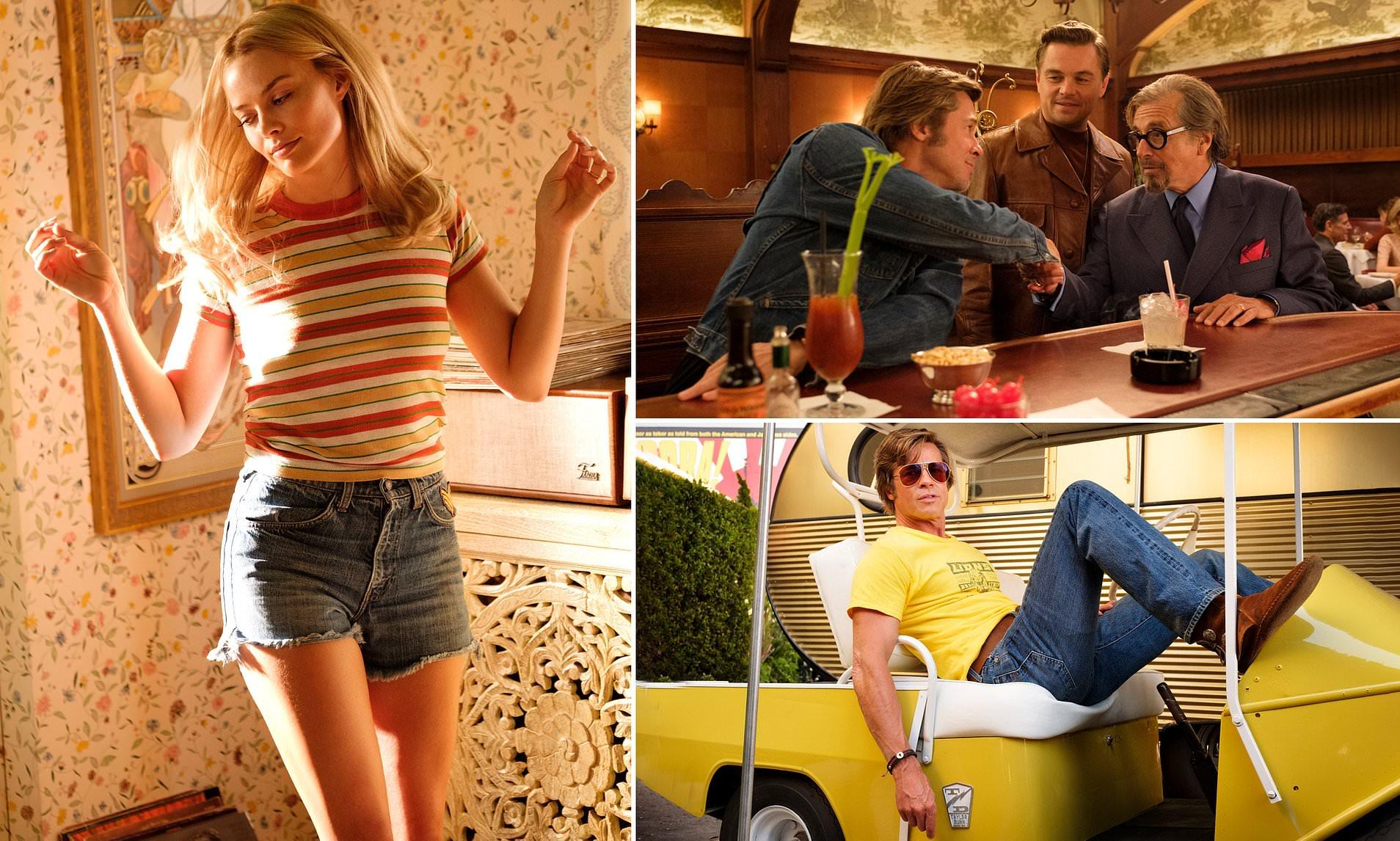 Phong cách thời trang thập niên 70's của Leonardo và Brad Pitt trong Chuyện ngày xưa ở… Hollywood (1)