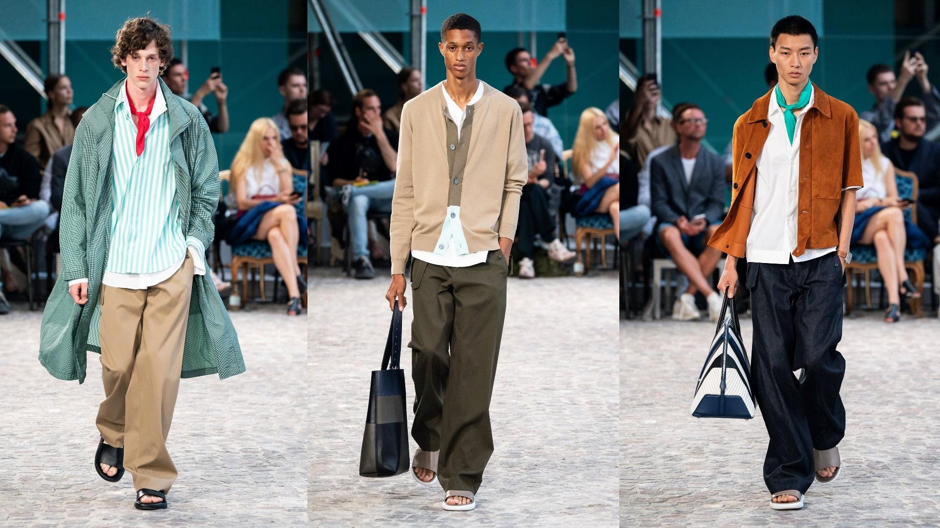 Bộ sưu tập thời trang nam Xuân Hè SpringSummer 2020 của Hermès