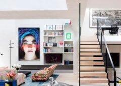Căn nhà siêu đẹp như không gian nghệ thuật tràn ngập ánh nắng