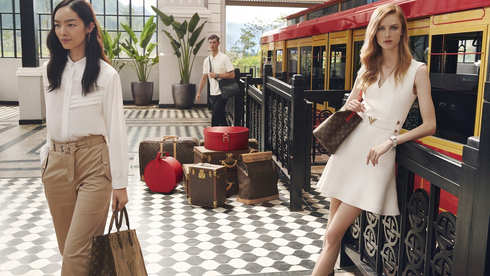 Chiến dịch Spirit of Travel của Louis Vuitton