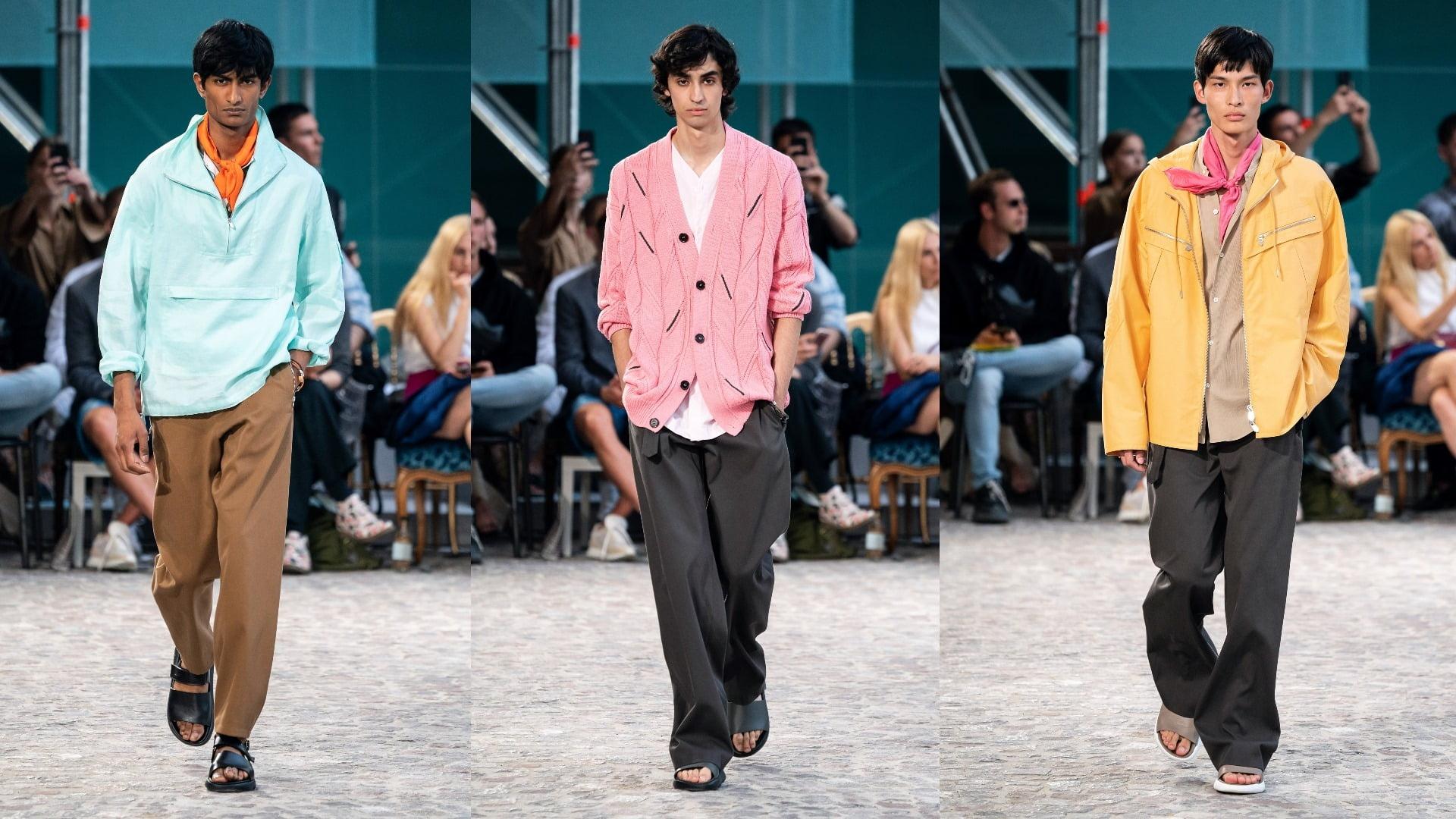 thời trang nam Xuân Hè SS20 của Hermès