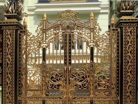 các mẫu cổng sắt đẹp (1)