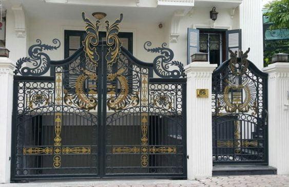 các mẫu cổng sắt đẹp (2)