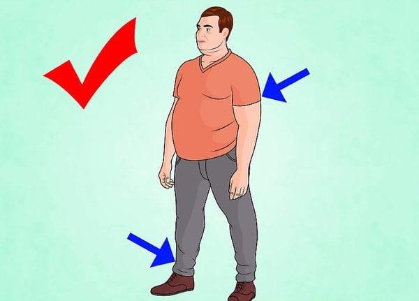 cách chọn áo thun nam cho người béo mập