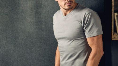 cách chọn size áo thun nam