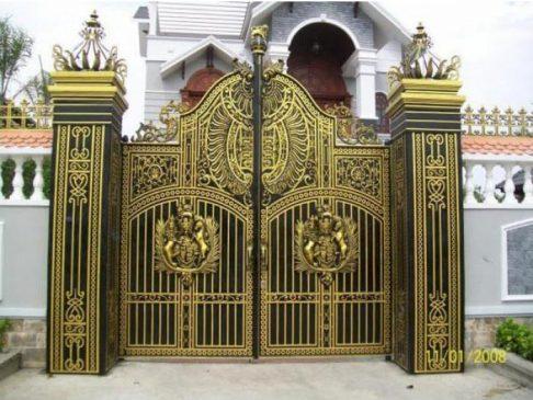 cổng sắt đẹp (1)