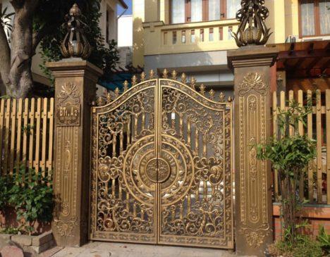 cổng sắt đẹp (2)