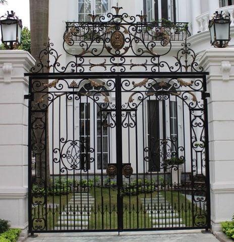 cổng sắt đẹp nhà cấp 4 (1)
