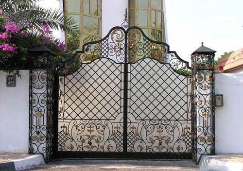 cổng sắt đẹp nhà cấp 4 (3)