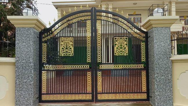 cổng sắt biệt thự đẹp (1)