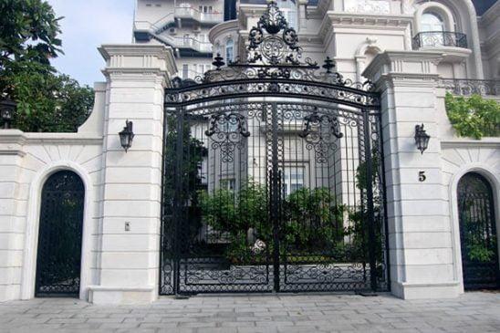 cổng sắt biệt thự đẹp (2)
