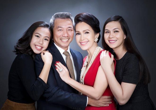 gia đình diễm my