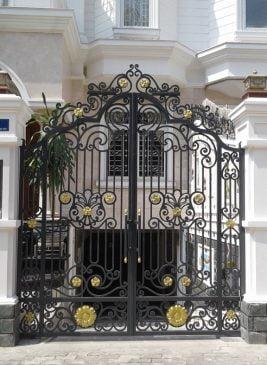 mẫu cổng sắt đẹp cho biệt thự (1)