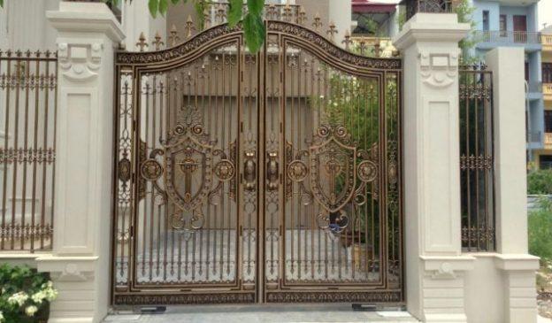 mẫu cổng sắt đẹp cho biệt thự (2)