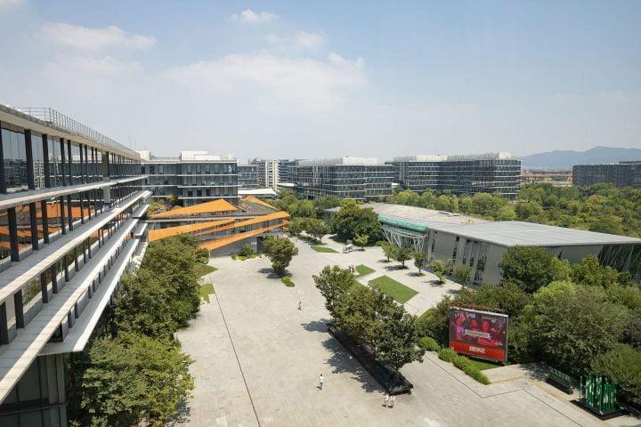 trụ sở của Alibaba
