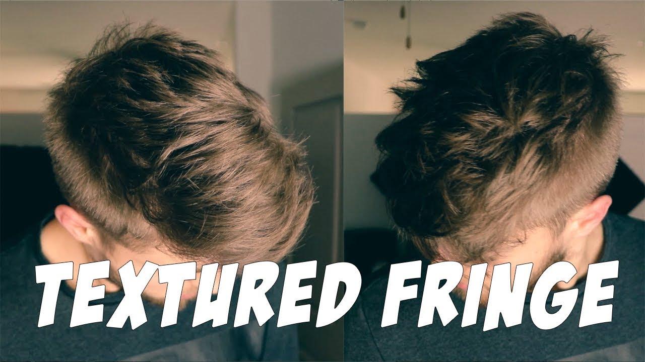 Kiểu tóc tỉa lớp Textured Fringe