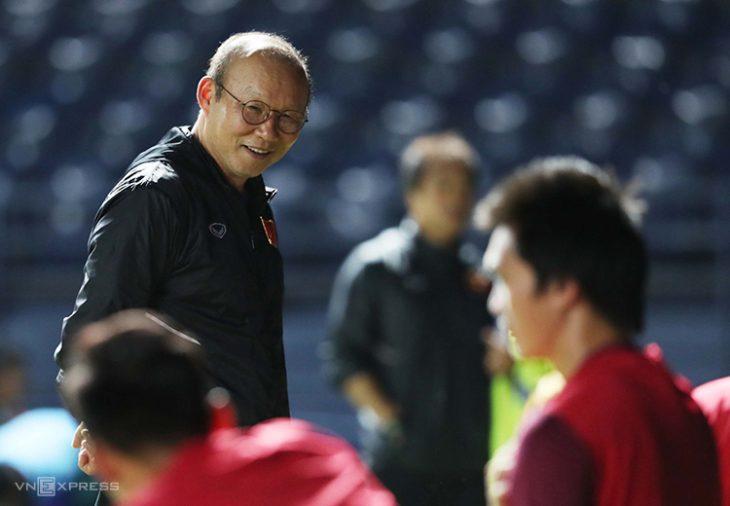 Park Hang Seo lãnh đạo