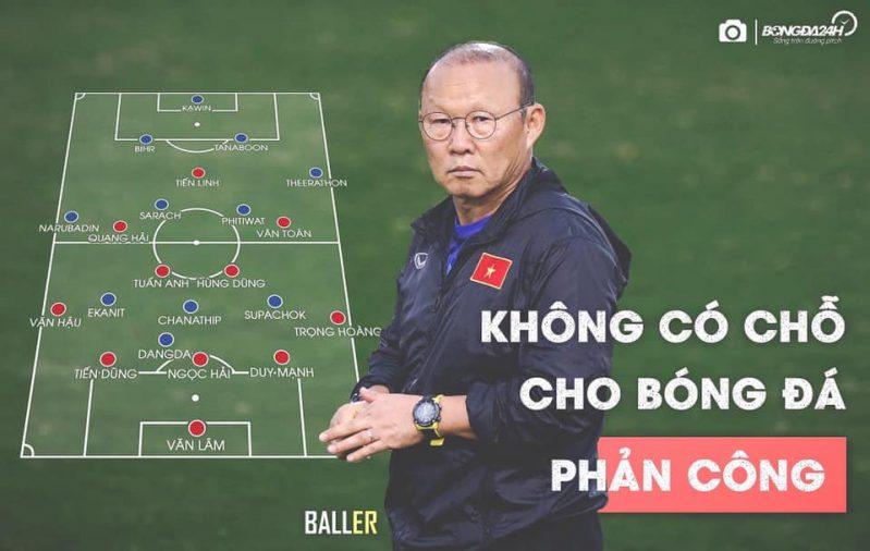 Phân tích trận đấu Việt Nam - Thái Lan