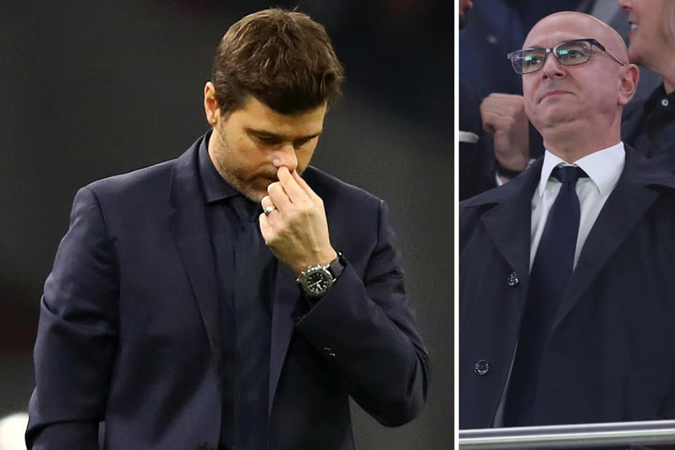 Pochettino and Levy