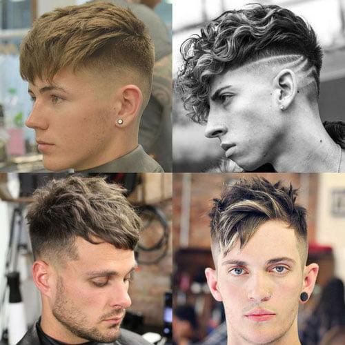 tóc nam tỉa đẹp xu hướng 2020
