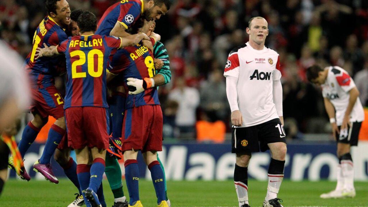 BARCELONA vs MU 2011