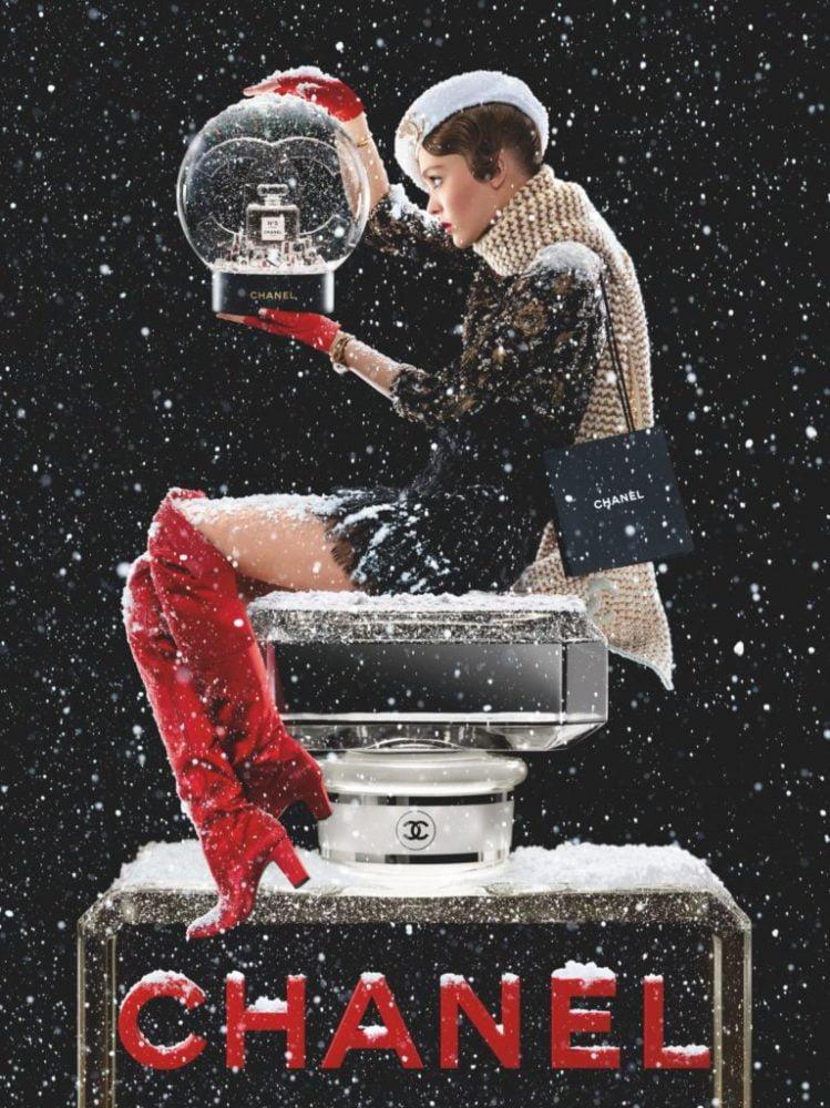 Chanel No.5 holiday 2019