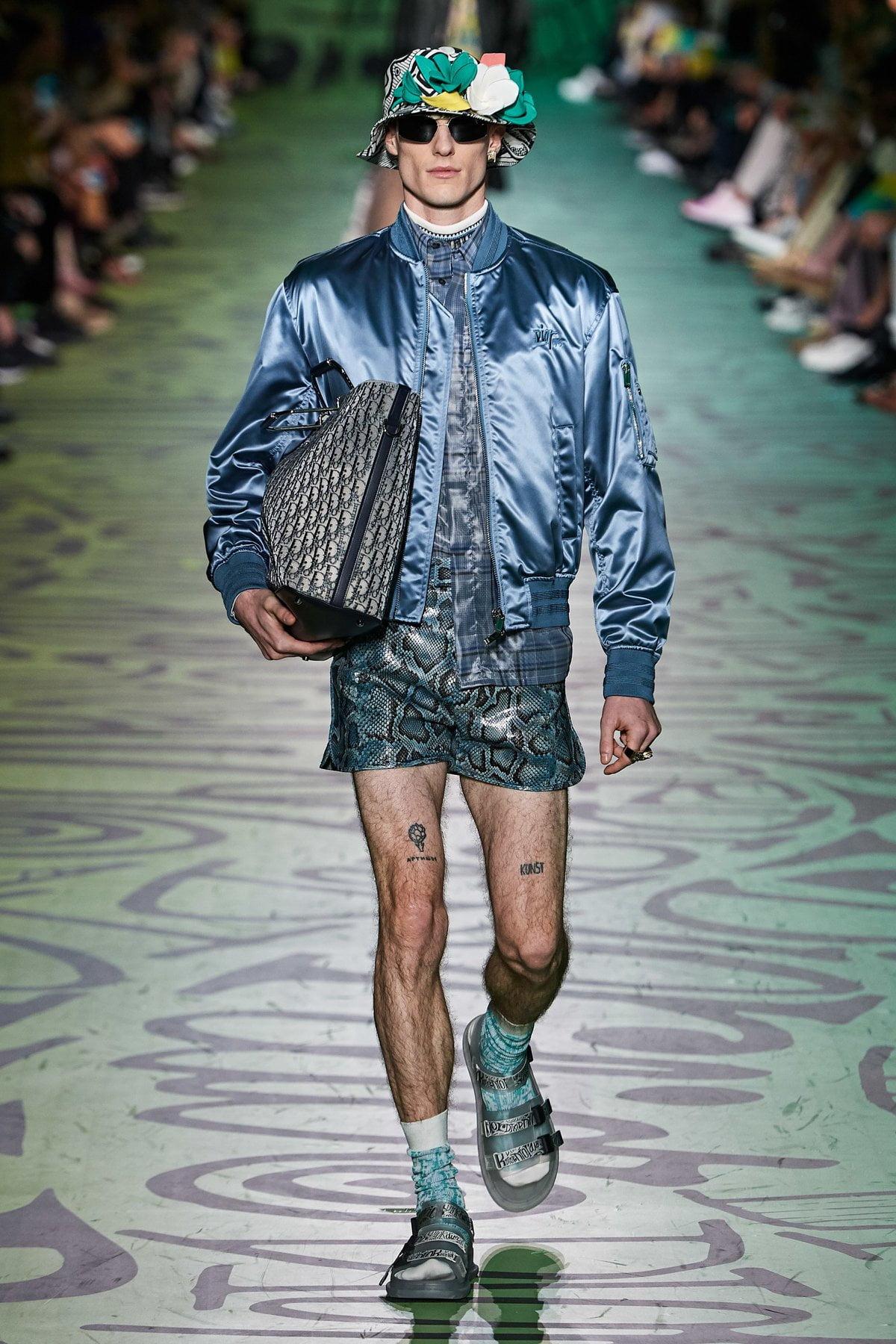 Dior muốn đánh gục cả thế giới với dòng thời trang nam đầy nhục cảm 13