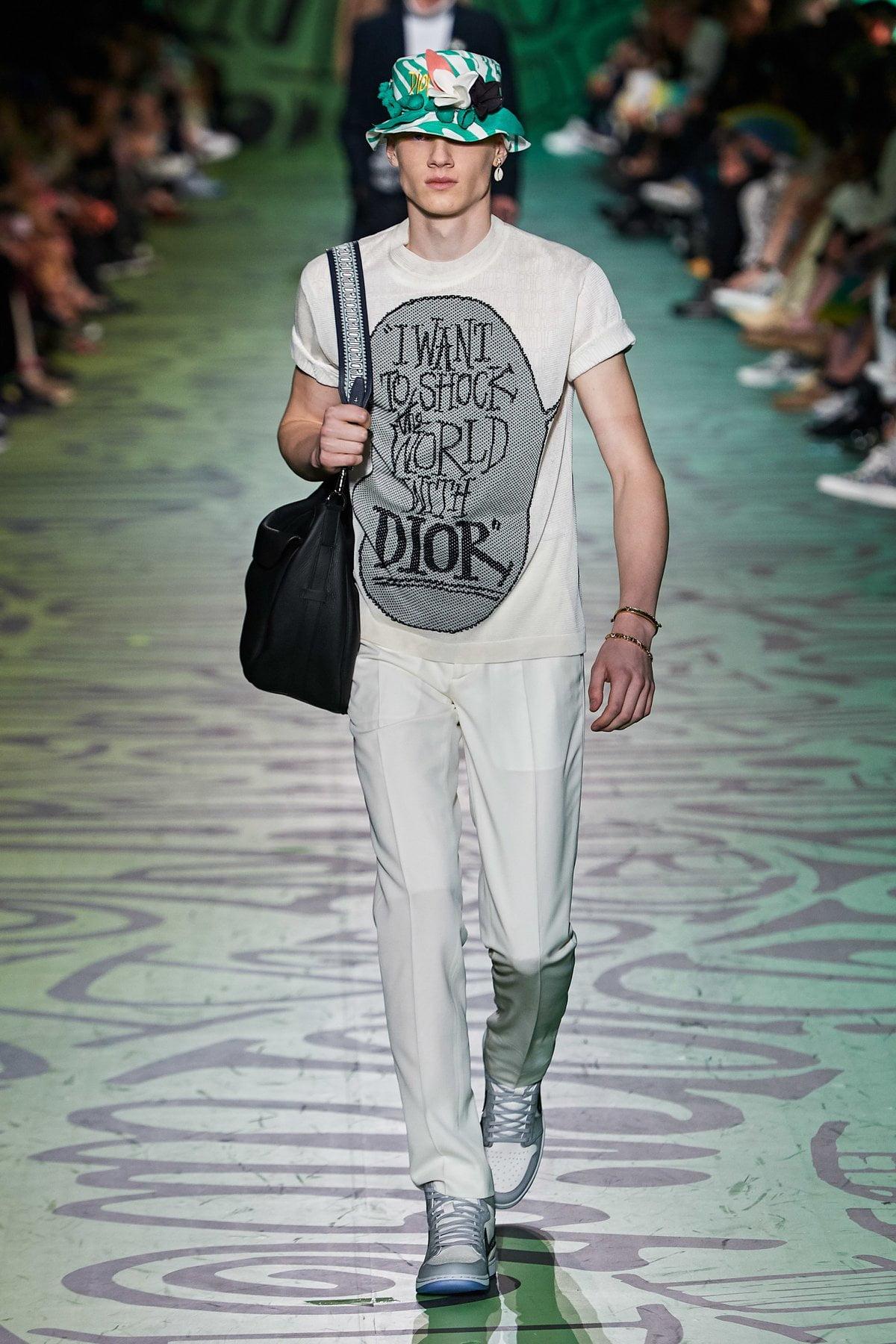 Dior muốn đánh gục cả thế giới với dòng thời trang nam đầy nhục cảm 7