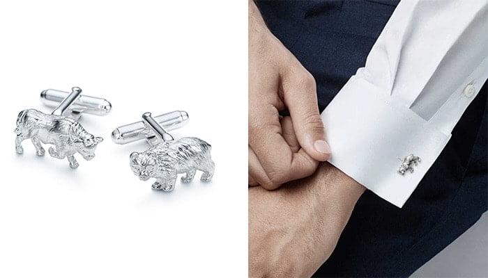 Khuy măng sét Pull & Bear của Tiffany & Co