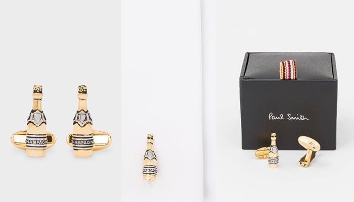 Khuy măng sét champagne vàng từ Paul Smith Men