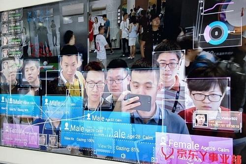 Đầu tháng này, đài truyền hình quốc gia Trung Quốc đã cảnh báo về trường hợp rao bán công khai dữ liệu 5.000 khuôn mặt. Ảnh: SCMP.