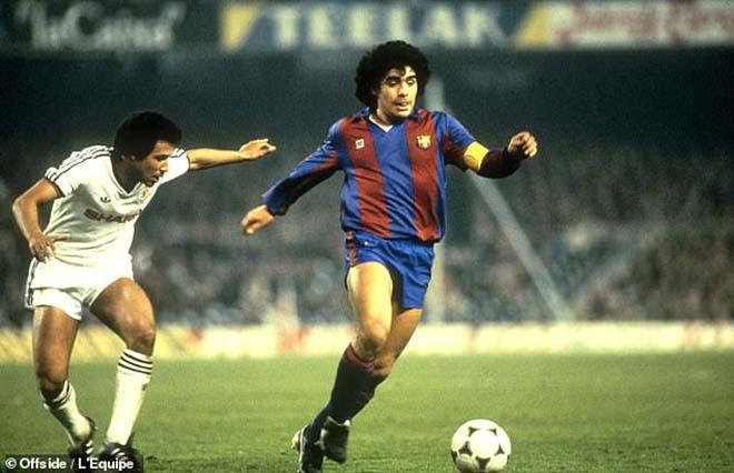báo cáo tuyển trạch của Diego Maradona