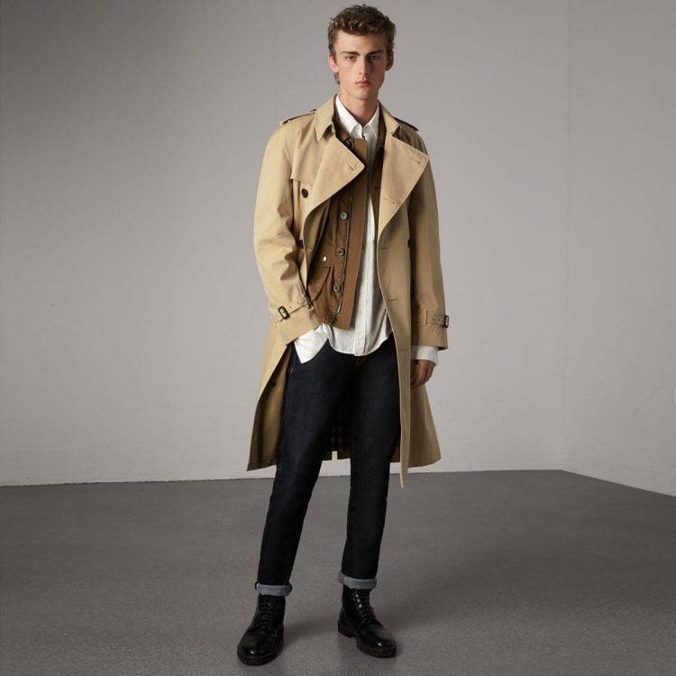 Áo khoác trench coat Burberry
