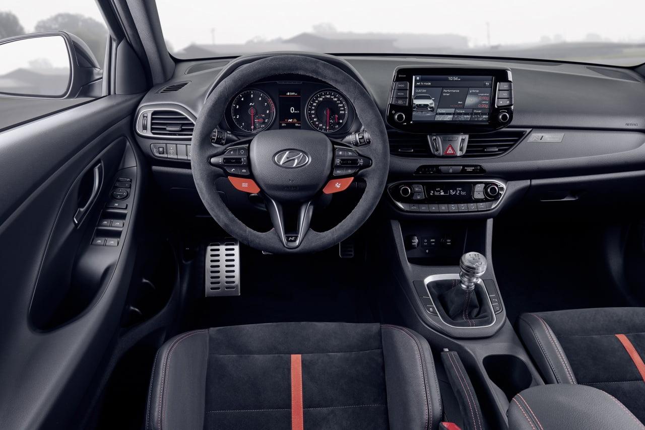 nội thất ô tô Hyundai i30 N Project C