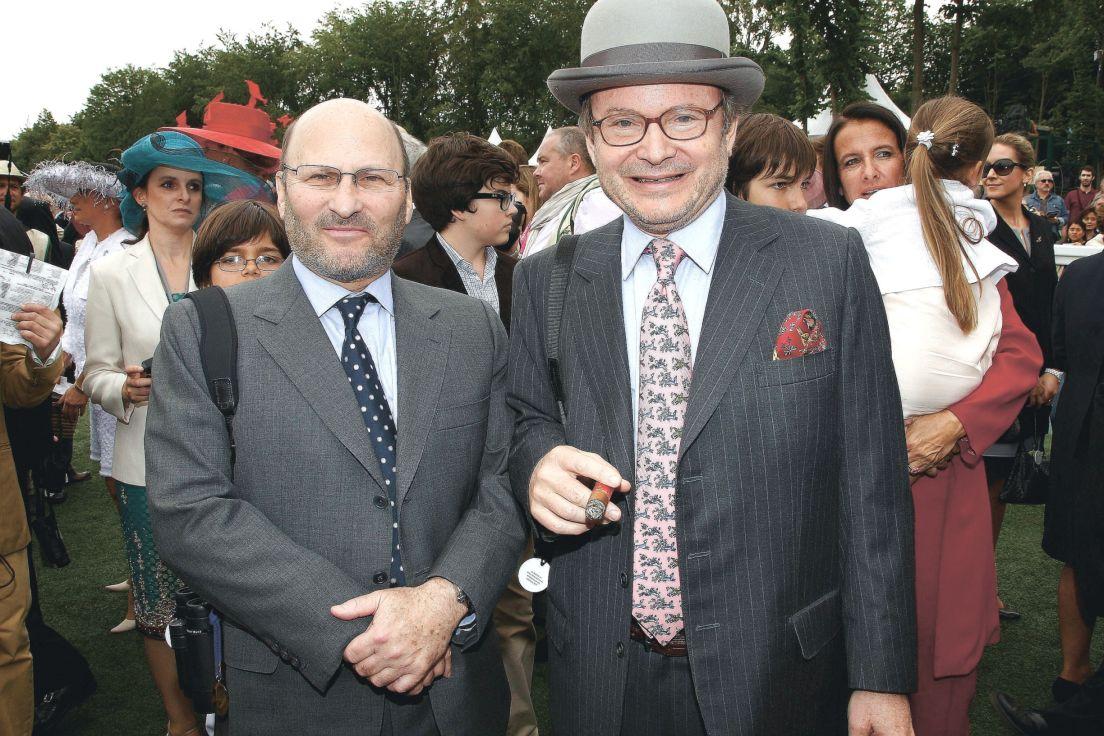 Alain và Gerard Wertheimer, đồng sở hữu nhà mốt Chanel