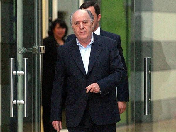 Amancio Ortega, đồng sáng lập tập đoàn bán lẻ thời trang Inditex