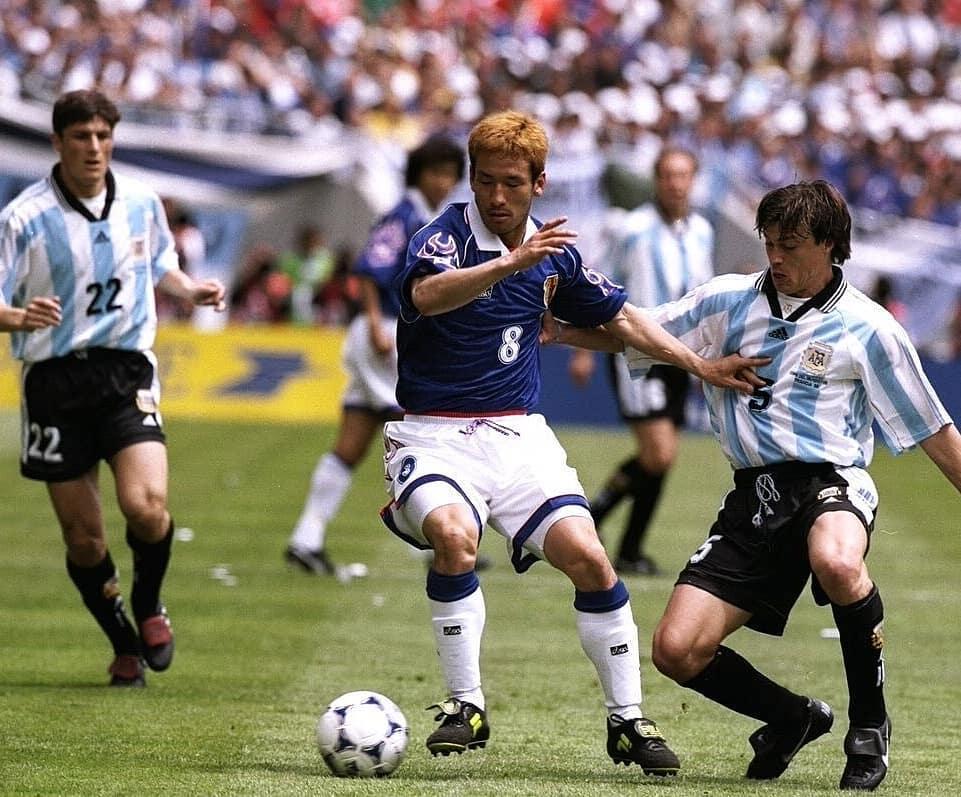 Bóng đá Nhật Bản worldcup 1998