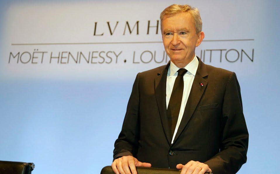 Bernard Arnault, chủ tịch tập đoàn LVMH, sở hữu Louis Vuitton, Christian Dior...