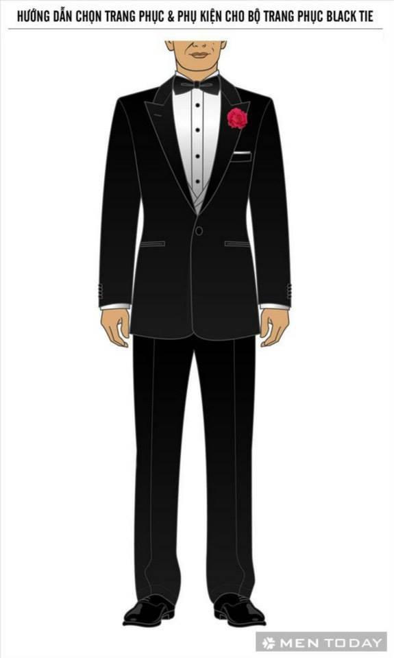 Black tie la gi