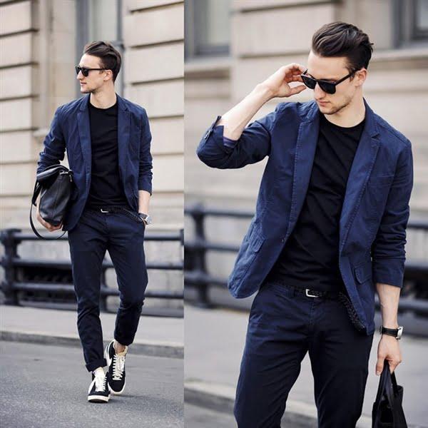 Chọn vest mặc theo phong cách smart casual phóng khoáng thường ngày