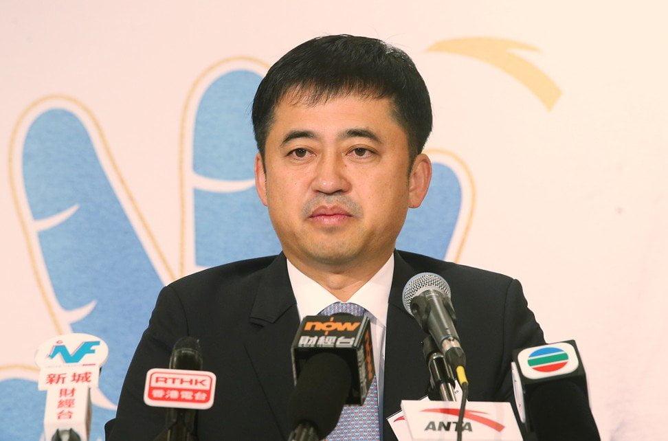 Ding Shizhong, chủ tịch Anta Sports