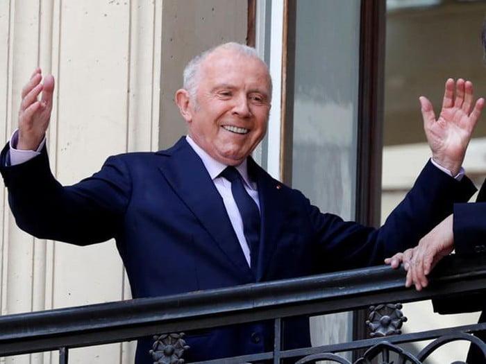 Francois Pinault, chủ sở hữu Gucci