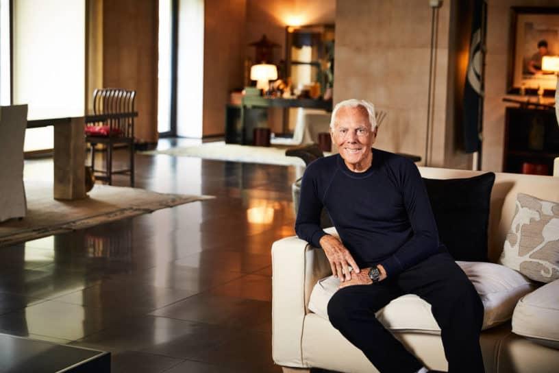 Giorgio Armani, chủ sở hữu đế chế thời trang Armani