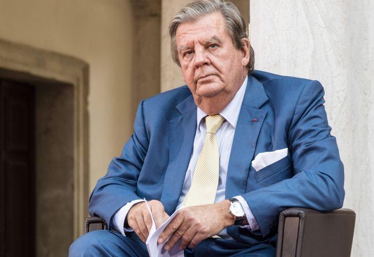 Johann Rupert, chủ tịch của công ty đứng sau Montlanc