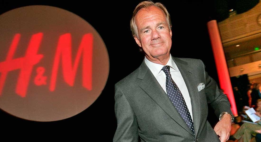 Stefan Persson, chủ tịch hãng thời trang nhanh H&M