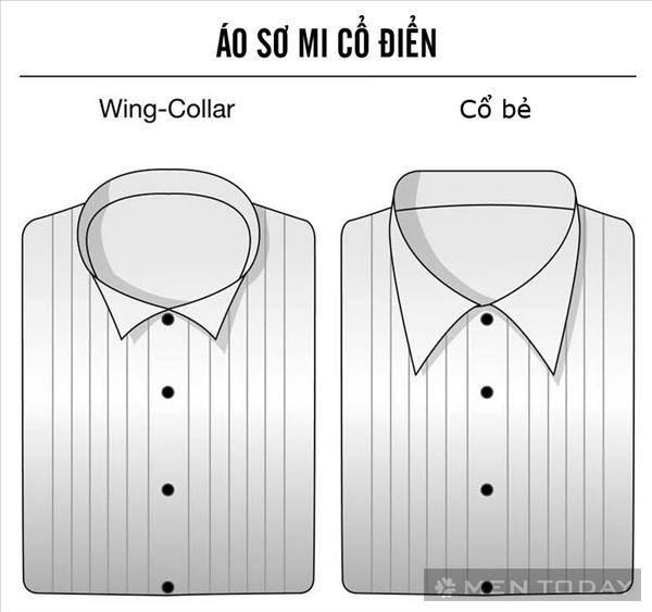 ao so mi co dien cho black tie