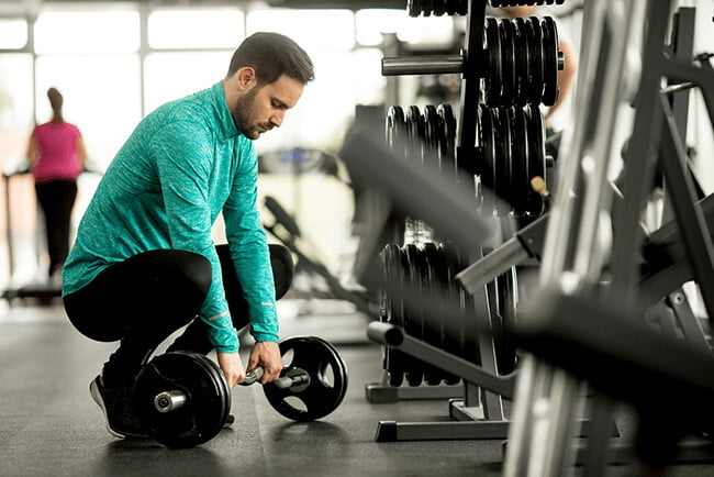 bài tập gym cho người bận rộn