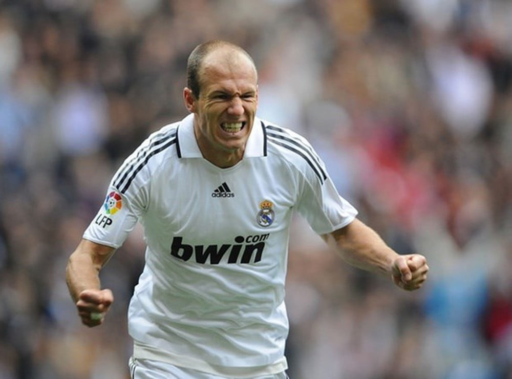 ARJEN ROBBEN - REAL MADRID