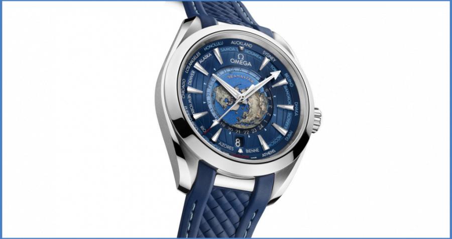 Đồng hồ Omega Seamaster Aqua Terra Worldtimer